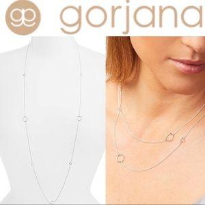 Gorjana Silver Quinn Delicate Wrap Necklace